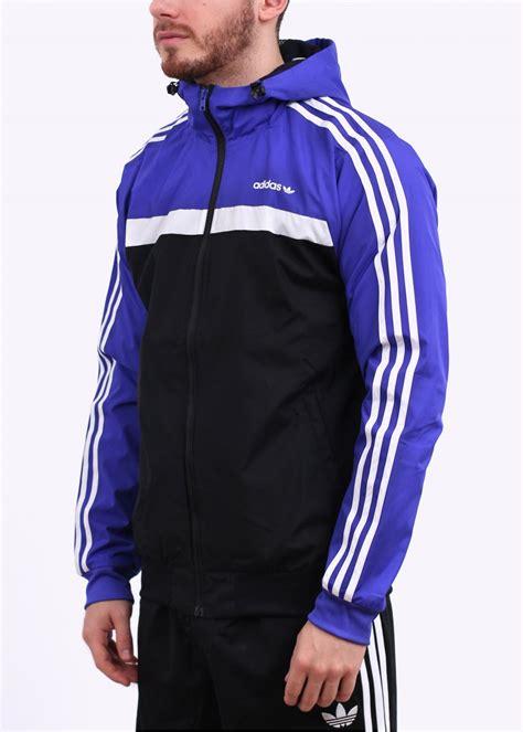 Jaket Parasut Adidas Black Blue adidas black and blue jacket adidas shop free shipping sitewide adidas world