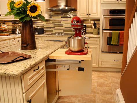 Kitchen Mixer Diy How To Build A Cabinet Shelf For A Mixer How Tos Diy