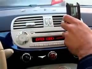 Fiat 500 Radio Autoradio Fiat 500
