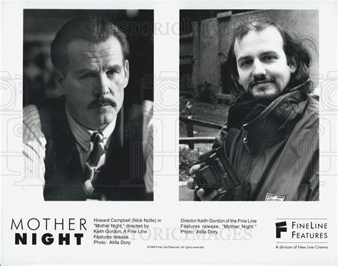 gordon keith cards 1996 press photo actor nick nolte director keith gordon