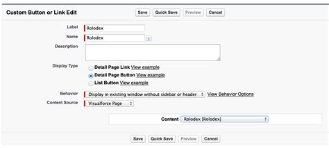 javascript page layout editor build a fast account rolodex in visualforce using