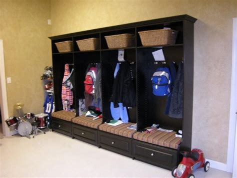 garage coat and shoe storage chicagoland custom closets mud rooms