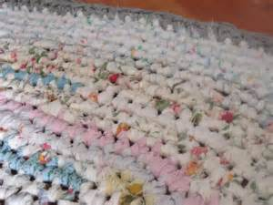 rag rug area rug crochet rug shabby chic by ruthsgreentreasures 50 00 handmade pinterest