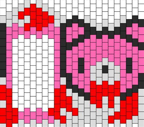 pattern password ipod touch bloody gloomy bear ipod touch case bead pattern peyote