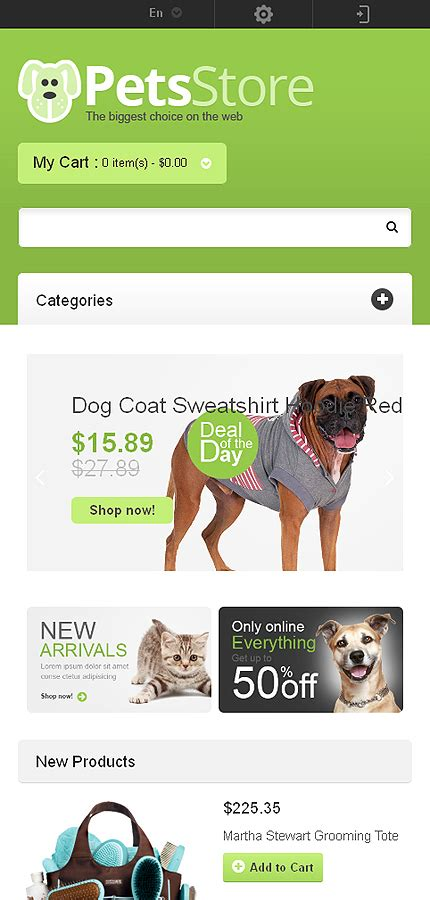 magento themes pet store responsive pets store magento theme 46622