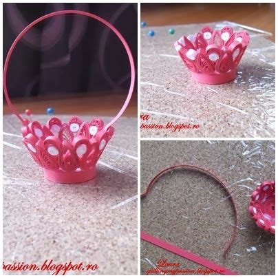Quilling Basket Tutorial | quilling my passion tutorial cosulet cu ghiocei quilled