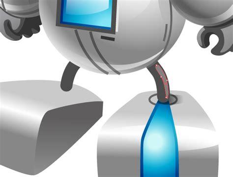 tutorial illustrator robot create a cute robot using adobe illustrator