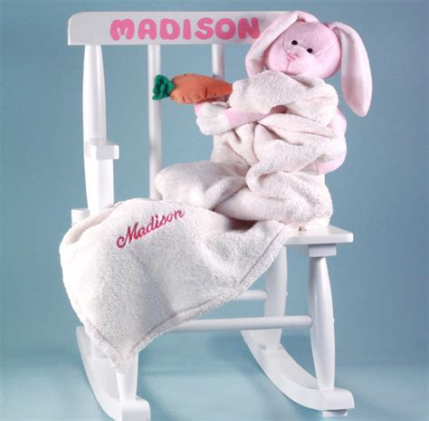 baby s first rocking chair personalized baby gift for