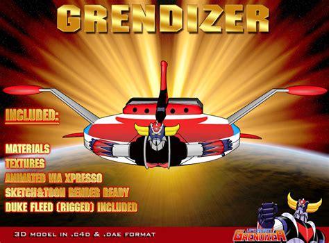 Grendizer 3d Model