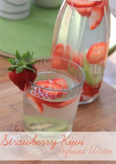 Benefits Of Strawberry Kiwi Detox Water by 84 Best Images About Fruit Infused Water On
