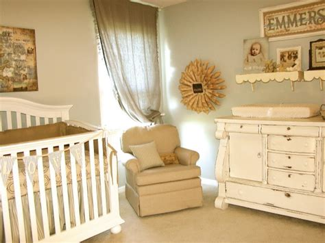 vintage neutral nursery design dazzle