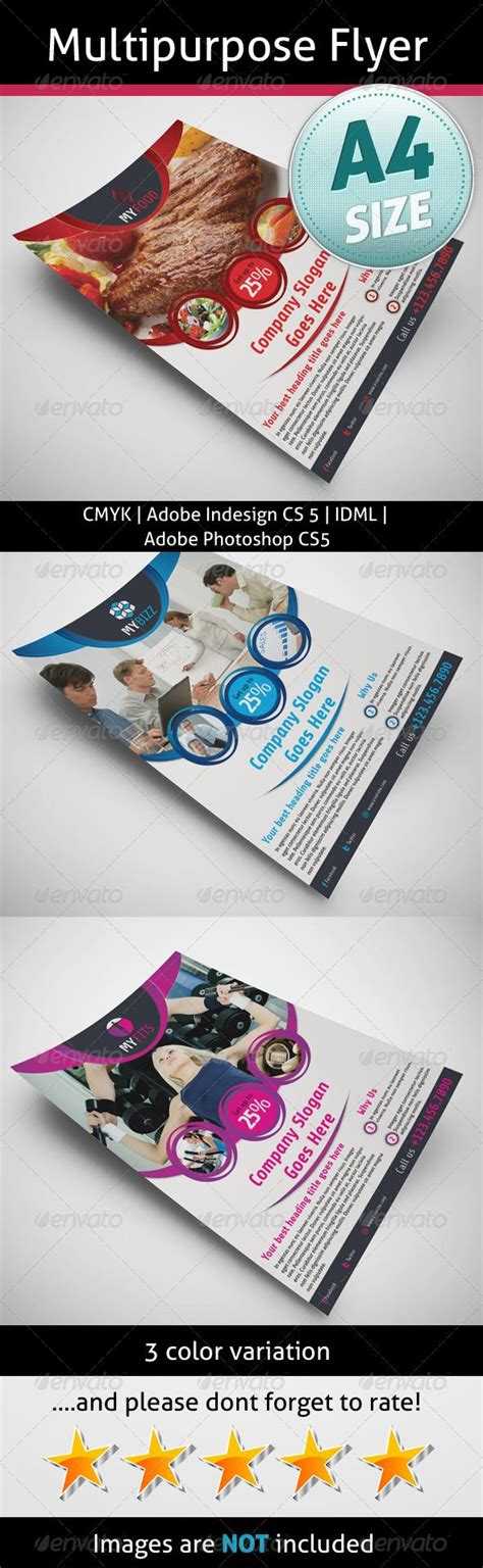 Multipurpose Flyer Marketing And Sell Sheets Brochures Flyer Template Business Flyer Card Templates For Photoshop Cs5