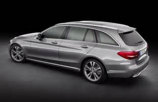 Mercedes Estate Wagon 2015 Mercedes C Class Wagon Revealed