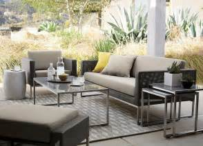 Crate And Barrel Dining Room Furniture fun and fresh patio furniture ideas