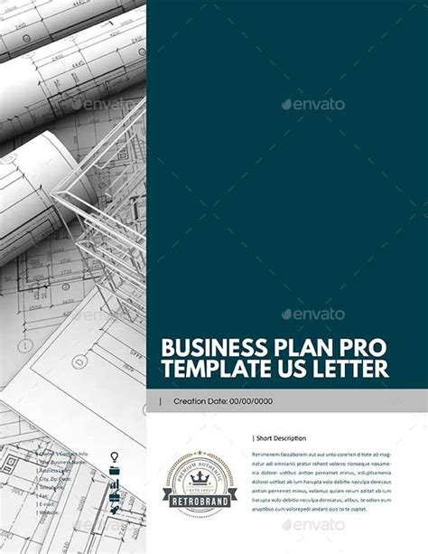 business plan pro templates business plan pro template us letter by keboto graphicriver