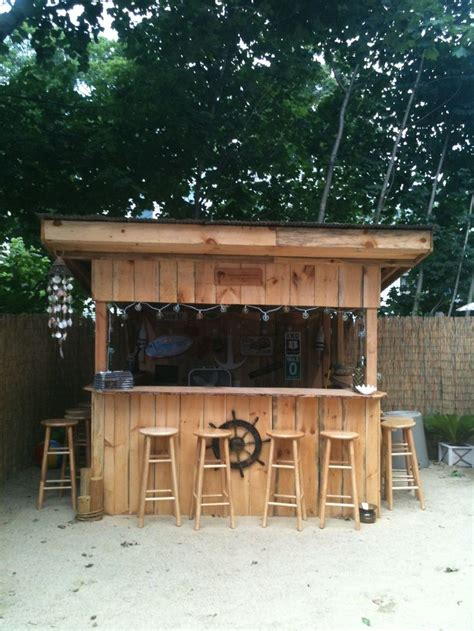 backyard bar designs our backyard beach bar quot shawn s sand bar and grill