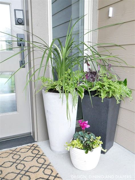 front porch planter ideas taryn whiteaker