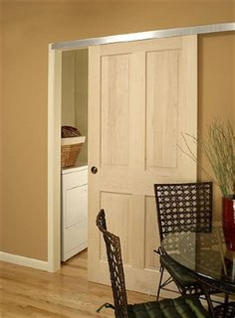 alternative to pocket door basement on pinterest basement walls basements and stairs
