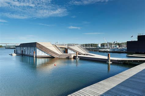 kayak club boats gallery of the floating kayak club force4 architects 8