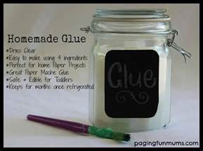 How To Make Paper Mache Glue At Home - crafty 2 time white glue out of only 4 ingredients