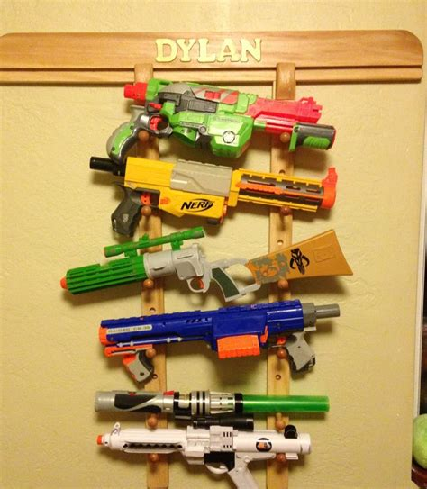 nerf gun rack i it great storage for those nerf guns boy bedrooms