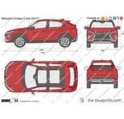 The Blueprintscom  Vector Drawing Mitsubishi Eclipse Cross