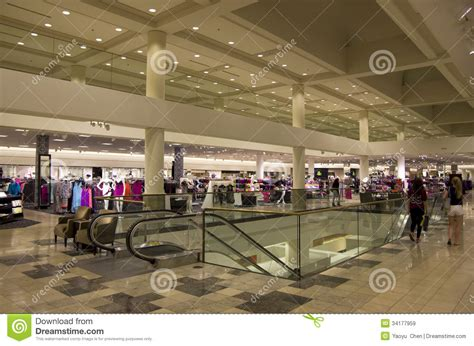 Nordstrom To Set Up Shop In The Big Apple by Department Store Fashion Editorial Stock Image Image Of