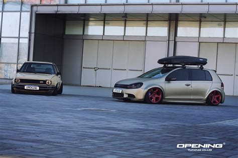 stanced volkswagen golf stanced volkswagen golf gti cars one
