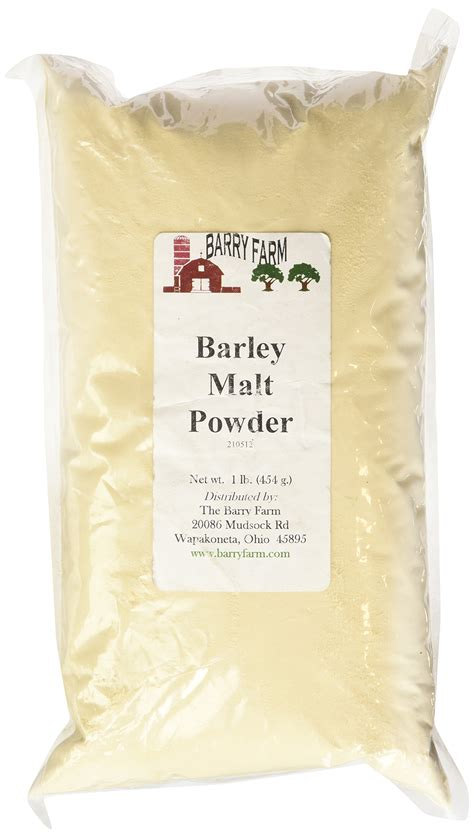 Diastatic Malt Powder 1 Lb organic barley malt syrup 20 oz