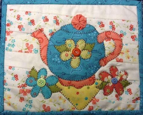 mug rug quilt patterns friendship tea mug rug by quilt doodle craftsy