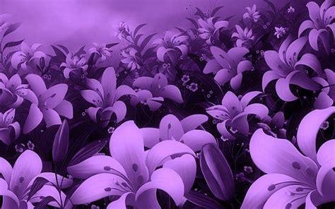 20 Purple Flower Backgrounds Wallpapers Freecreatives Purple Flower Backgrounds Graphicpanic