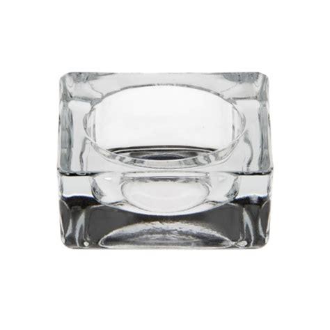 kerzenhalter glas eckig kerzenhalter glas eckig 27 mm x 60 mm x 60 mm glasklar