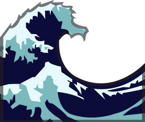 emoji of a wave download water wave emoji image in png emoji island