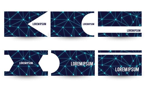 Https Www Vecteezy Free Vector Business Card Templates by Neuron Theme Business Card Template Set Free