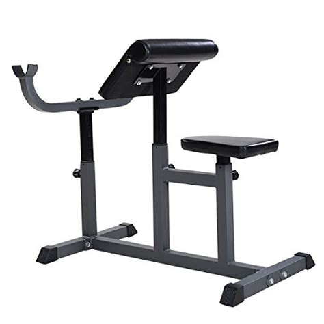 commercial preacher curl bench goplus adjustable commercial preacher arm curl weight