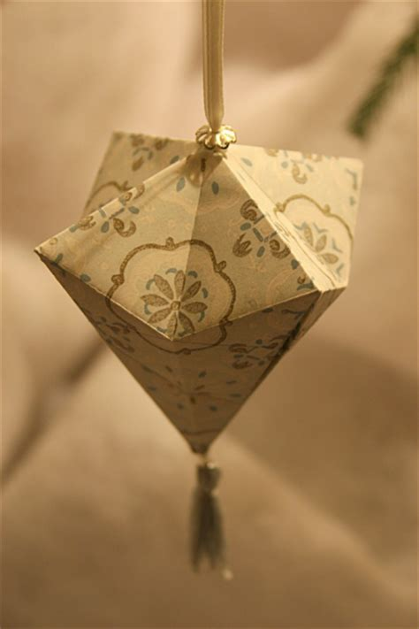 Easy Origami Ornaments - easy origami ornaments comot