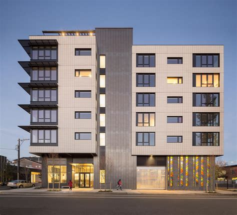 Portland Appartments by Muse Apartments Gbd Architects Portland Oregon