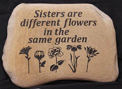 Engraved Rocks For Garden Engraved Rock Custom Garden Stones