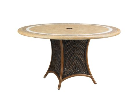 Patio Table Bases Island Estate Lanai Table Base For 54 Inch Dining Table Hauser S Patio