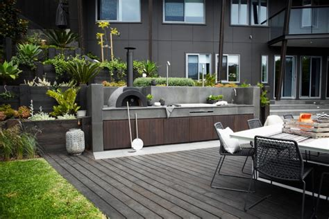 modern outdoor kitchens 19 modern outdoor kitchen designs ideas design trends
