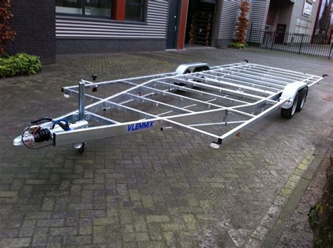 boottrailer chassis tiny house vlemmix aanhangwagens plateauwagens