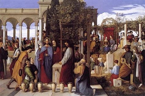 Wedding Feast At Cana Epiphany by Feast Of The Epiphany