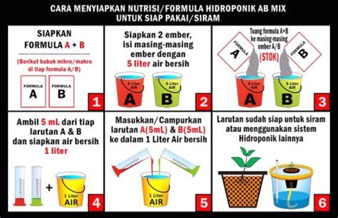 Nutrisi Hidroponik Ab Mix Cair pupuk hidroponik ab mix bibitbunga