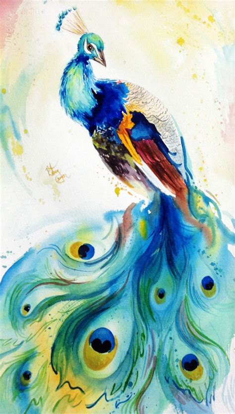 25 best ideas about peacock decor on pinterest peacock colorful peacock feather painting www pixshark com