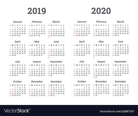 calendar   year royalty  vector image