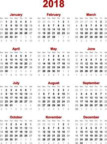 Calendar 2018 Yearly Lunar Calendar 2018 Yearly Calendar Template