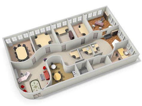 Office Space Design Tool interactive floor plans 2d 3d room planner