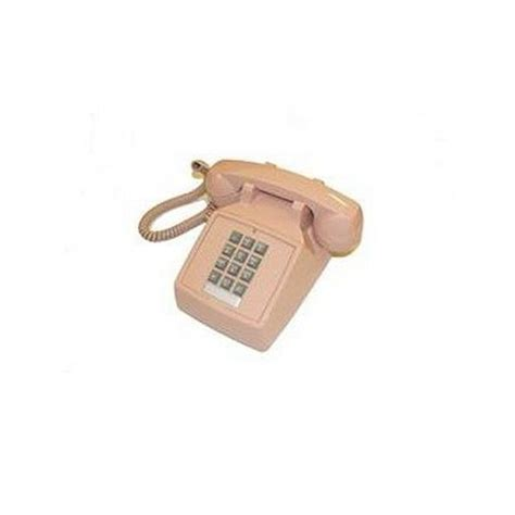 Cortelco Desk Phone by Cortelco Desk Corded Telephone With Volume Beige