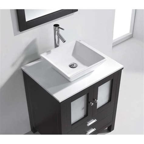 28 Bathroom Vanity Cabinet Brentford 28 Quot Single Bathroom Vanity Cabinet Set In Espresso