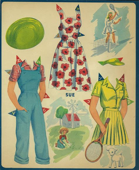 How To Make Paper Dolls And Clothes - miss paper dolls clothes